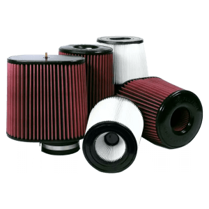 Air Filters for Competitors Intakes AFE XX-90021 Dry Extendable White S&B