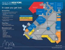 New York Las Vegas Hotel Map