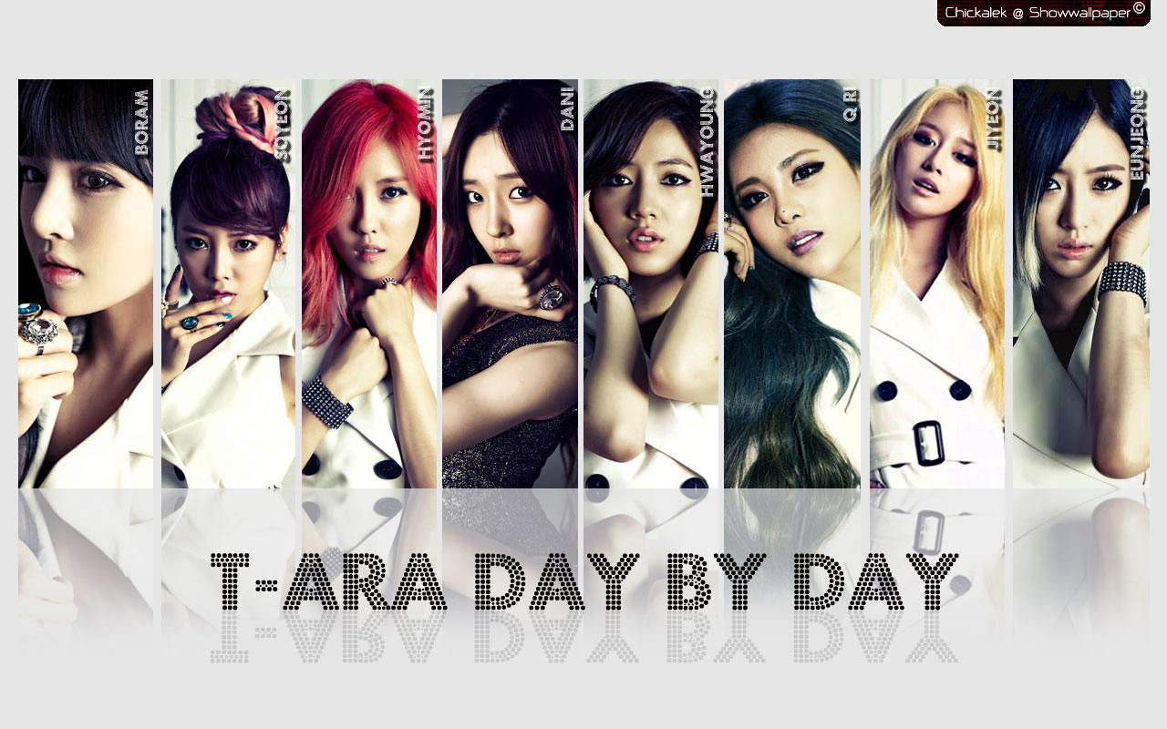 T-ARA Day By Day Ver.2 Wallpaper