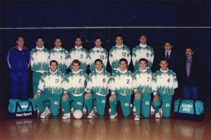 Showy Boys Serie B1 Stagione sportiva 1992-1993