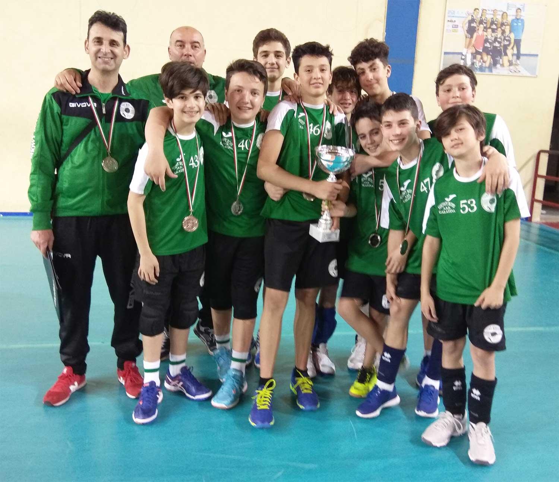 La Showy Boys under 13 conquista la medaglia d'argento