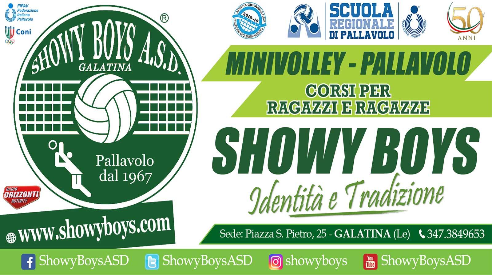 Riparte la Scuola Volley per i giovani della Showy Boys