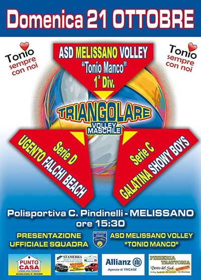 TRIANGOLARE DI VOLLEY