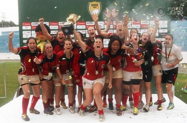 Charrua Rugby é Campeão Brasileiro Feminino!