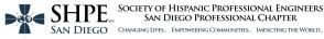 SHPE San Diego 2014 Website Banner