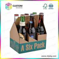 6 pack beer carrier, beer box, beer holder, beer carrier