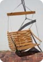 french wine barrel swing chair zar1650.00