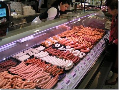 Baveria sausages
