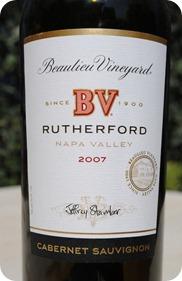 Beaulieu Vineyard Rutherford CS 2007