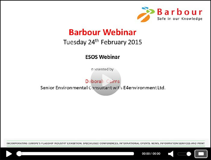 On-demand: Barbour webinar series