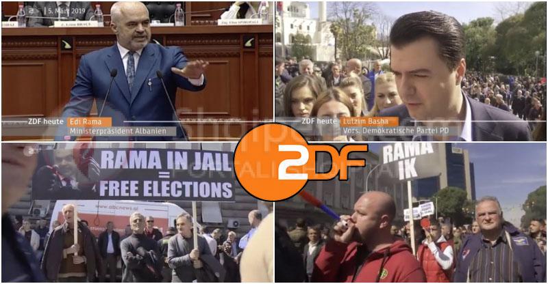 ZDF nuk ndalet kundër Ramës: Votat u blenë, zemërimi po rritet. -
