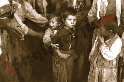 Disa nga pamjet që dëshmojnë mbërritjen e refugjatëve çamë në Shqipëri, në vitin 1945 5