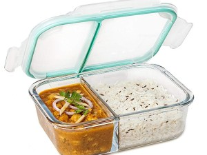 Signoraware Small Glass Lunch Box at Best Prices For 2020