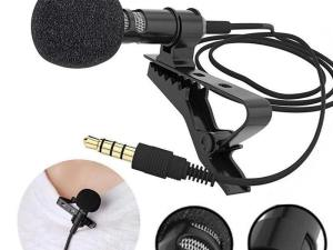 Buy Now CEUTA® Digital Noise Cancellation Clip Collar Mic Condenser For Youtube Videos | Interviews | Lectures | Travel Videos Mike for Mobile Voice Chat, Video Chat-2020