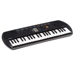 Casio Mini Keyboard, SA-77 44 ,Black with Adaptor, Which are a great fit for Kids