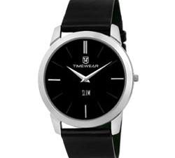 Leather Watch for Men: Buy TIMEWEAR Analog Black Dial Men's Watch at Best Price For 2020