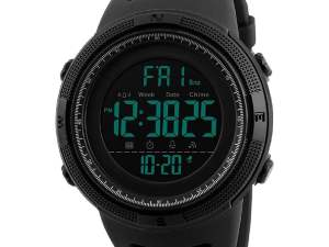 Digital Watch for Men: Buy SKMEI Digital Black Dial Men's Watch at Best Price for 2020