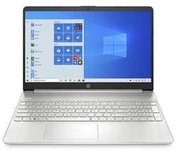 HP i3 10th Generation Laptop Intel Core i3 15.6-inch (i3-1005G1/4GB/512GB SSD/Windows 10 Home/MS Office/Natural Silver/1.77kg), 15s fr1004tu