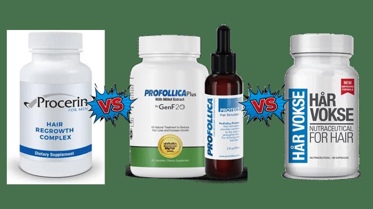 Procerin Vs Profollica Vs Har Vokse Shred Fitness NY Review