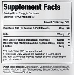 Profollica Plus Supplement Facts