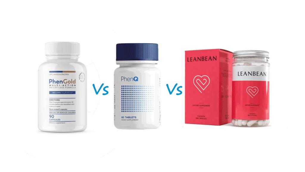 phengold vs phenq vs leanbean shredfitny