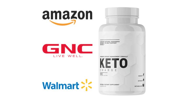 KetoCharge - Where to buy  Amazon GNC Walmart?