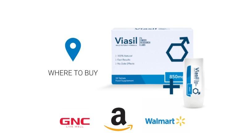Viasil Where To Buy Amazon, GNC, Walgreens or Walmart?