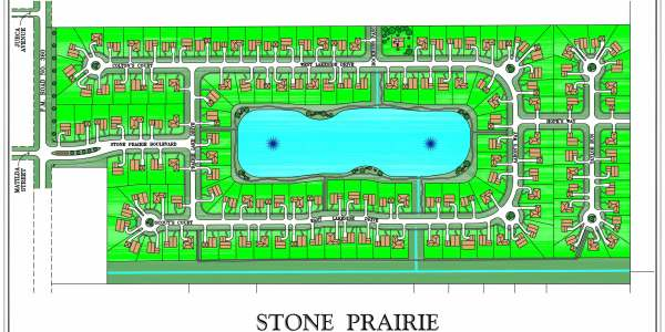 Stone Prairie Site Map
