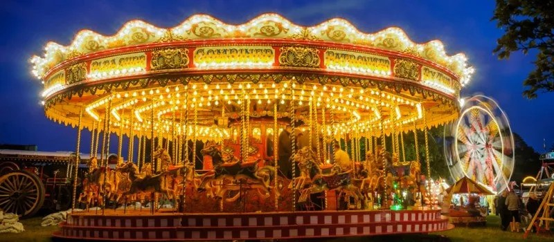 Gallopers by Night