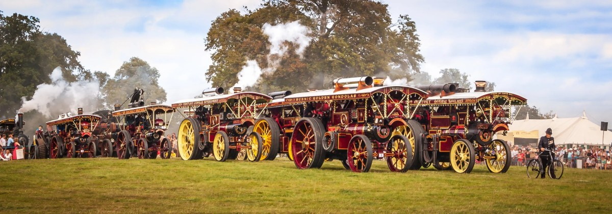 Shrewsbury Steam Rally - Grand Parade