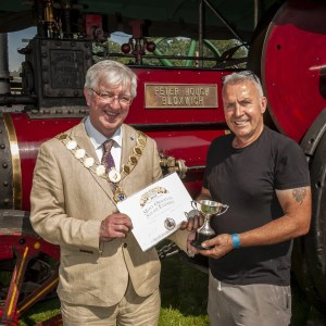 Most Original Steam Exhibit (Ted Jones Memorial Cup) - S Hough, Exhibit: Foster AW 9434