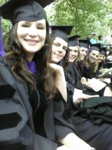 Sadie Yale graduation