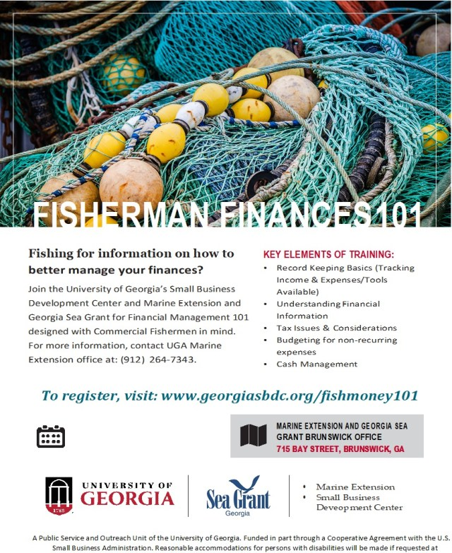FREE Fishermen Finance 101 Class: February 26th