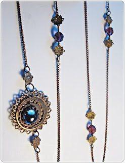 Vintage Brass Necklace Tutorial