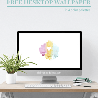 February Desktop Wallpaper . Freebies