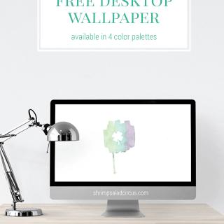 March Desktop Wallpaper . Freebies