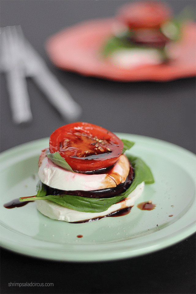 Mozzarella Beet Stacks Recipe 4