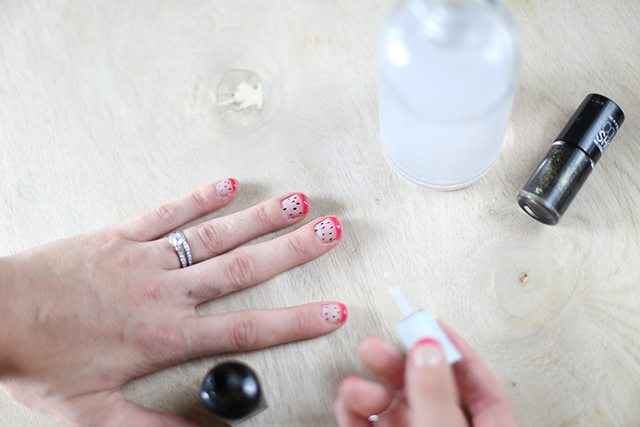 DIY Dragonfruit Manicure Tutorial - Step 5