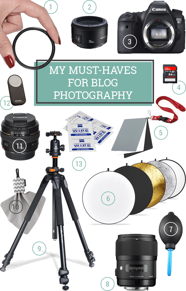 12 Essential Photography Supplies for Beginners  Bloggers