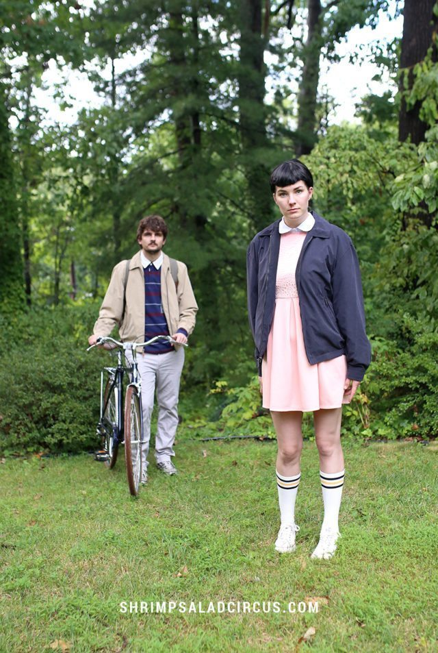 DIY Stranger Things Halloween Costume - Eleven