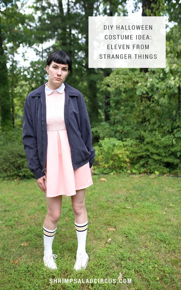 DIY Stranger Things Halloween Costume - Eleven El