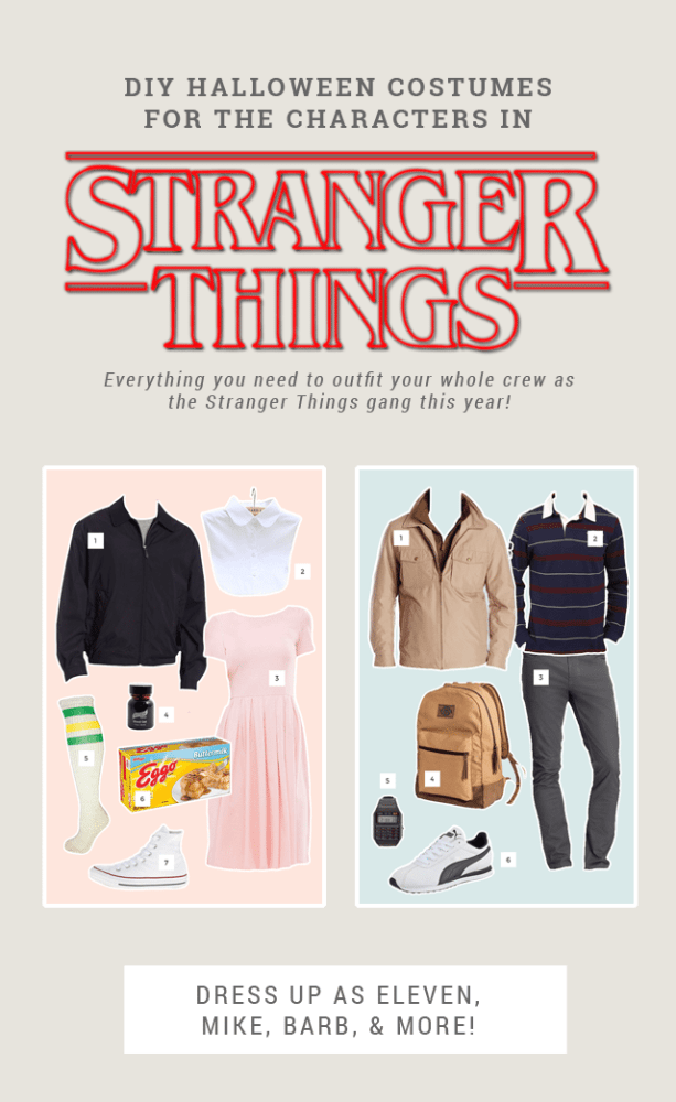 DIY Stranger Things Halloween Costume Ideas