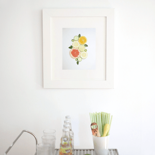 Free Printable Citrus Wall Art to Make Your Home Sparkle Brightly