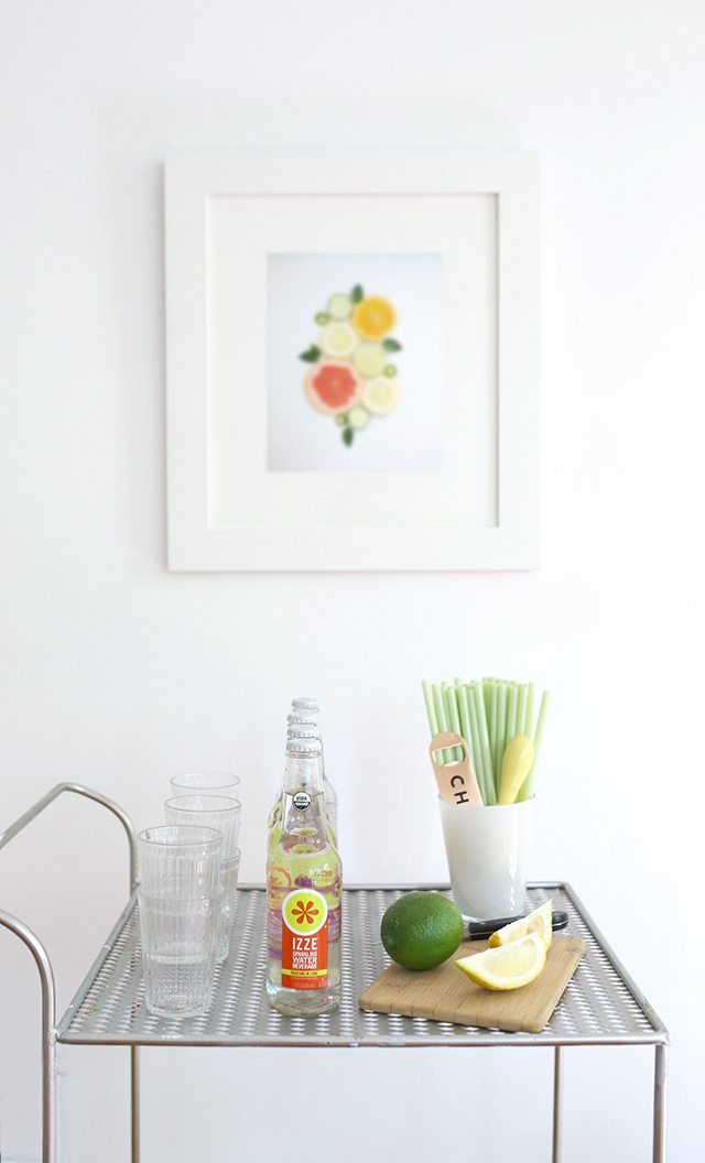 Free Printable Citrus Wall Art for the Kitchen or Dining Room