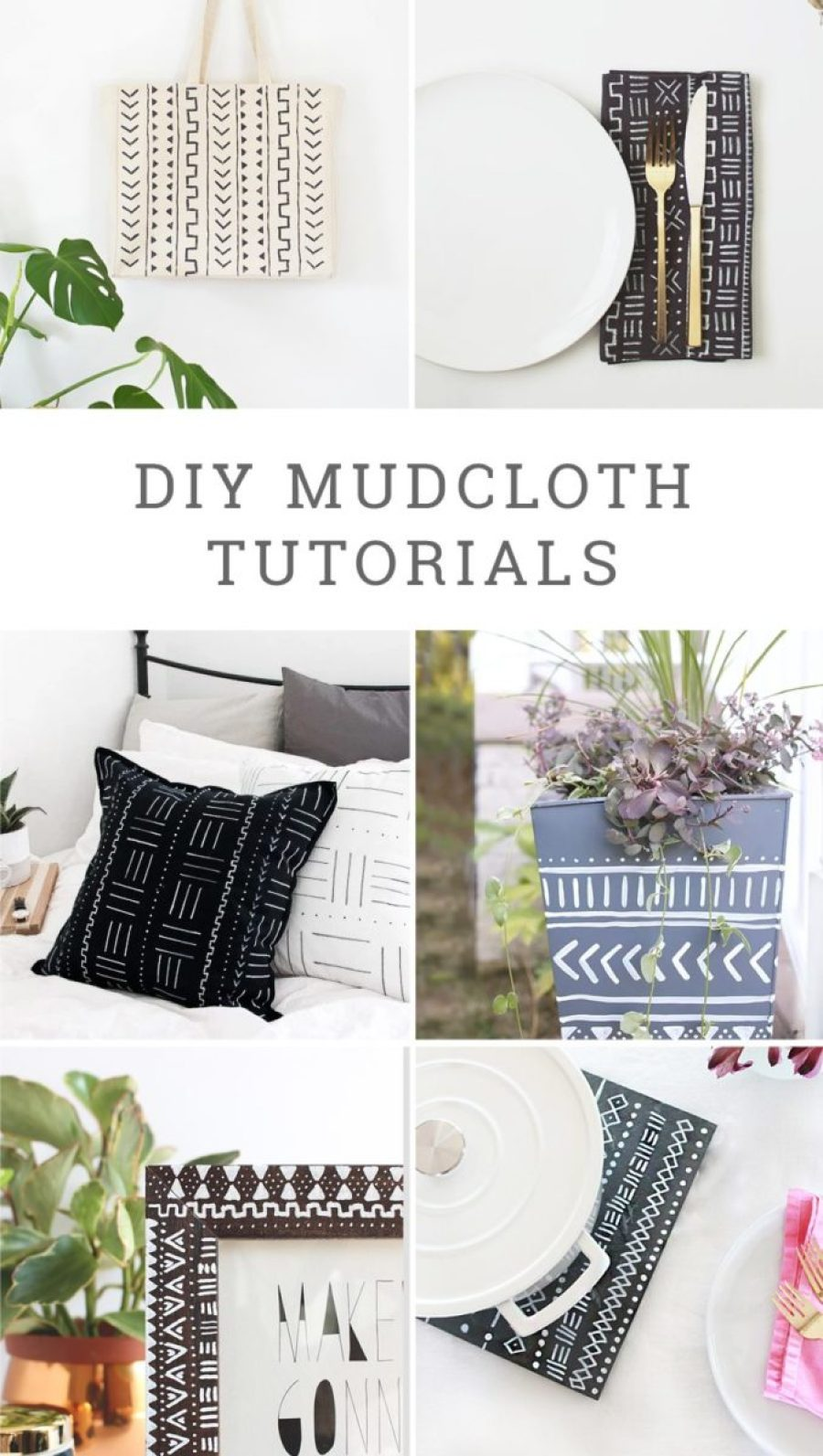 DIY Mudcloth Tutorials