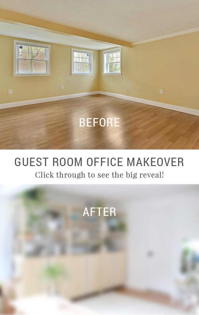 the big reveal my creative escape guest room office makeover
