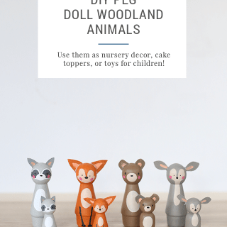 DIY Peg Doll Animals