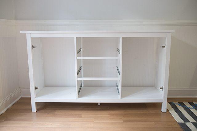IKEA Hack - DIY Bar Cabinet - Step 1