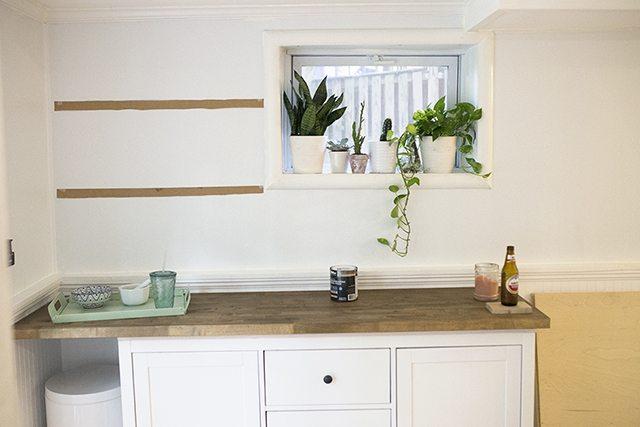 IKEA Hacks - DIY Bar Cabinet - Step 11