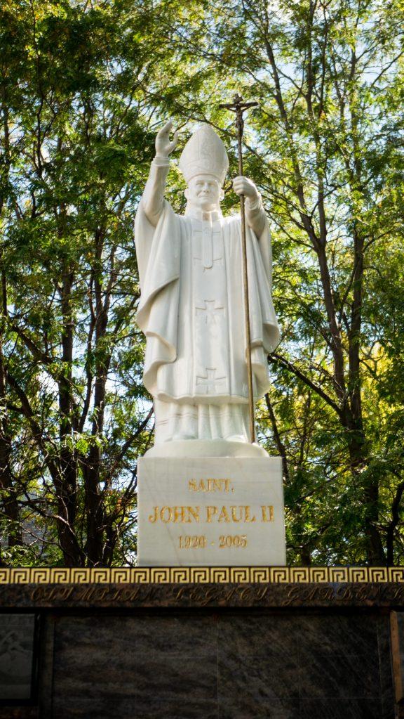 Pope St. John Paul II Cremation Columbarium